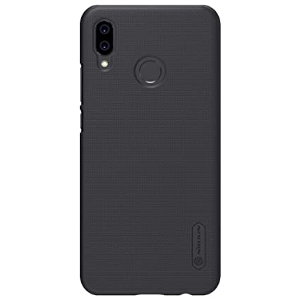 online retailer aeab4 59097 Nillkin Super Frosted Shield Hard Back Cover for Huawei P20 Lite(Black)