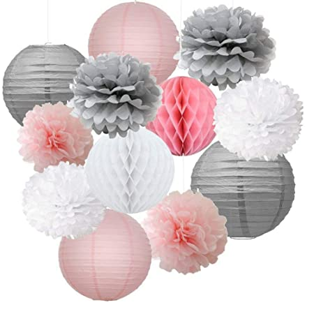 Boenzn Paper Flower Ball For Party Decoration And Celebration