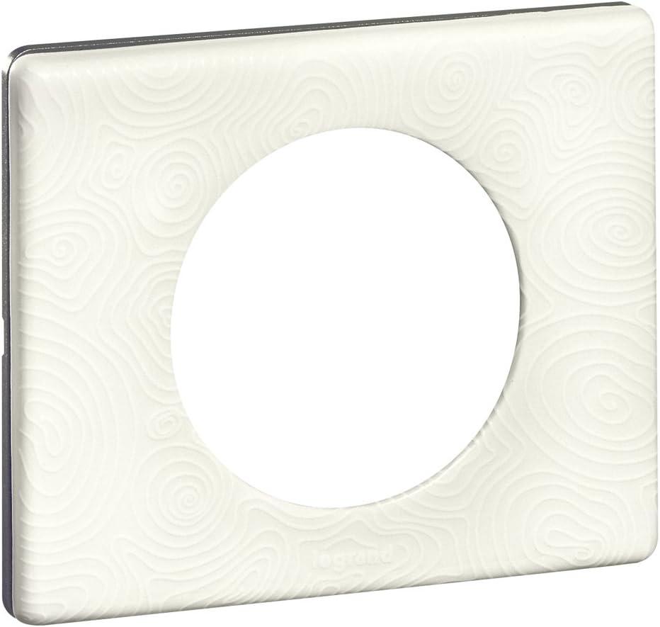 Legrand LEG69372 C/éliane2 Plaque avec 2 postes Ardoise