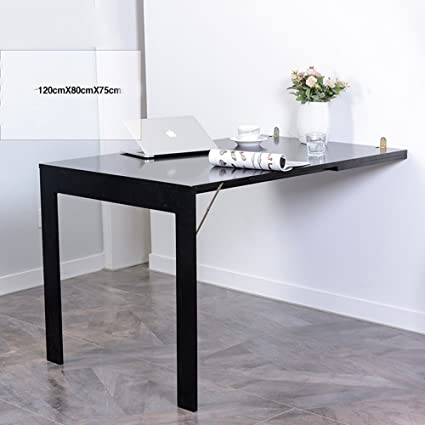 DUO Tavolo per computer Tavolo sospeso in legno a parete, tavolo ...