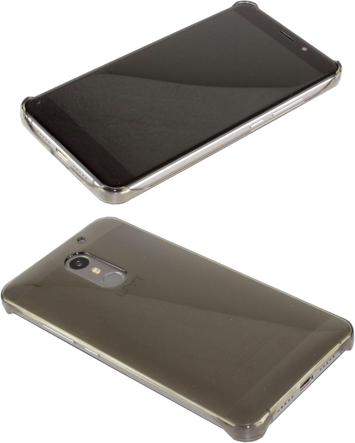 Funda UMI UMIDIGI MAX Backcover, Protección contra choques para el Smartphone (Funda Carcasa en Negro-Transparente): Amazon.es: Electrónica