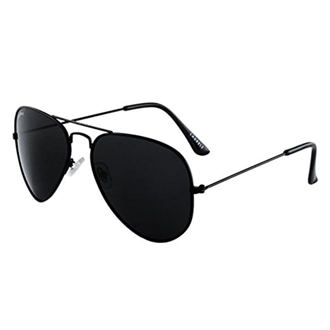 78b24639093f Xforia Matt Black Full Rim Aviator Sunglasses for Men   Boys  Amazon.in   Clothing   Accessories
