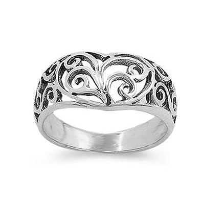 Amazon Com The Ice Empire 10mm 925 Sterling Silver Irish Celtic