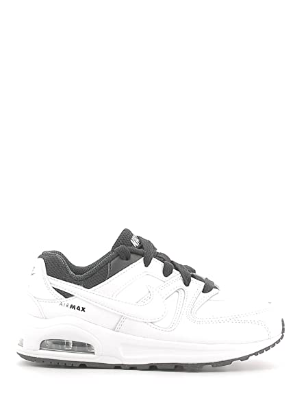 new product 8ffa3 81539 NIKE Air Max Command Flex LTR PS Running Shoes, Boy, White, 29 1