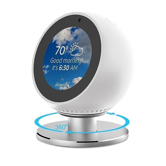 6 opinioni per NotoCity Echo Spot Stand 360 ° Supporto in Lega di Alluminio Girevole con