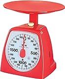 タニタ アナログクッキングスケール 2kg レッド 1439-RD