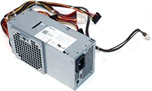 Dell Genuine OEM 250 Watt Power Supply Unit for Inspiron 530s, 620s, Vostro 220s Slim Model, Part Number: 3WFNF
