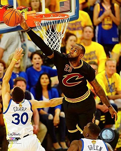 61e1b6dd1a69e Amazon.com  Lebron James Cleveland Cavaliers 2016 NBA Finals Game 7 Photo  (Size  8