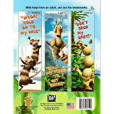 Ice Age : Dawn of the Dinosaurs Jumbo Coloring & Activity Book w/ 3 Bookmarkers on the Back (ICE AGE)