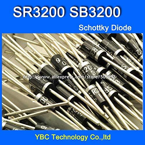 MAO YEYE 100pcs/lot SR3200 SB3200 3A/200V Schottky Diode