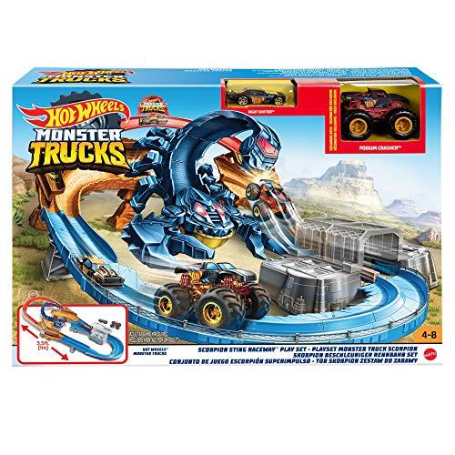Hot Wheels Monster Trucks Scorpion Playset