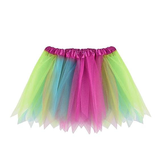 PAOLIAN Falda Tutu de Baile para Niña Ropa para Niñas Princesa Vestidos de Baile Corta para
