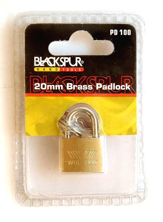 Blackspur BB-PD103 Long Shackle Brass Padlock