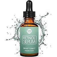Retinol Serum Testsieger 2019-2,5% Retinol Liposomen Liefersystem mit 20% Vitamin C & Vegan Hyaluronsäure - Anti-Aging Lift Serum, Für Gesicht, Dekolleté und Körper von Bioniva