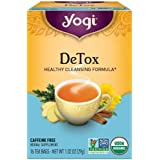 Yogi Tea, DeTox, 16 Count (Pack of 6), Packaging May Vary