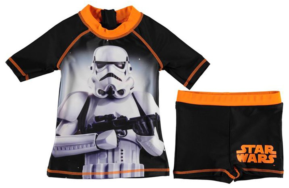 Set di costume da bagno, da bambino, a 2pezzi: maglietta e pantaloncini