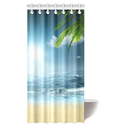Amazon Com Interestprint Ocean Beach Theme Decorations Shower