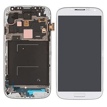 7275d094cf1 BEST2MOVIL Pantalla Completa LCD + TACTIL + Marco Compatible con Samsung  Galaxy S4 I9505 Blanco: Amazon.es: Electrónica