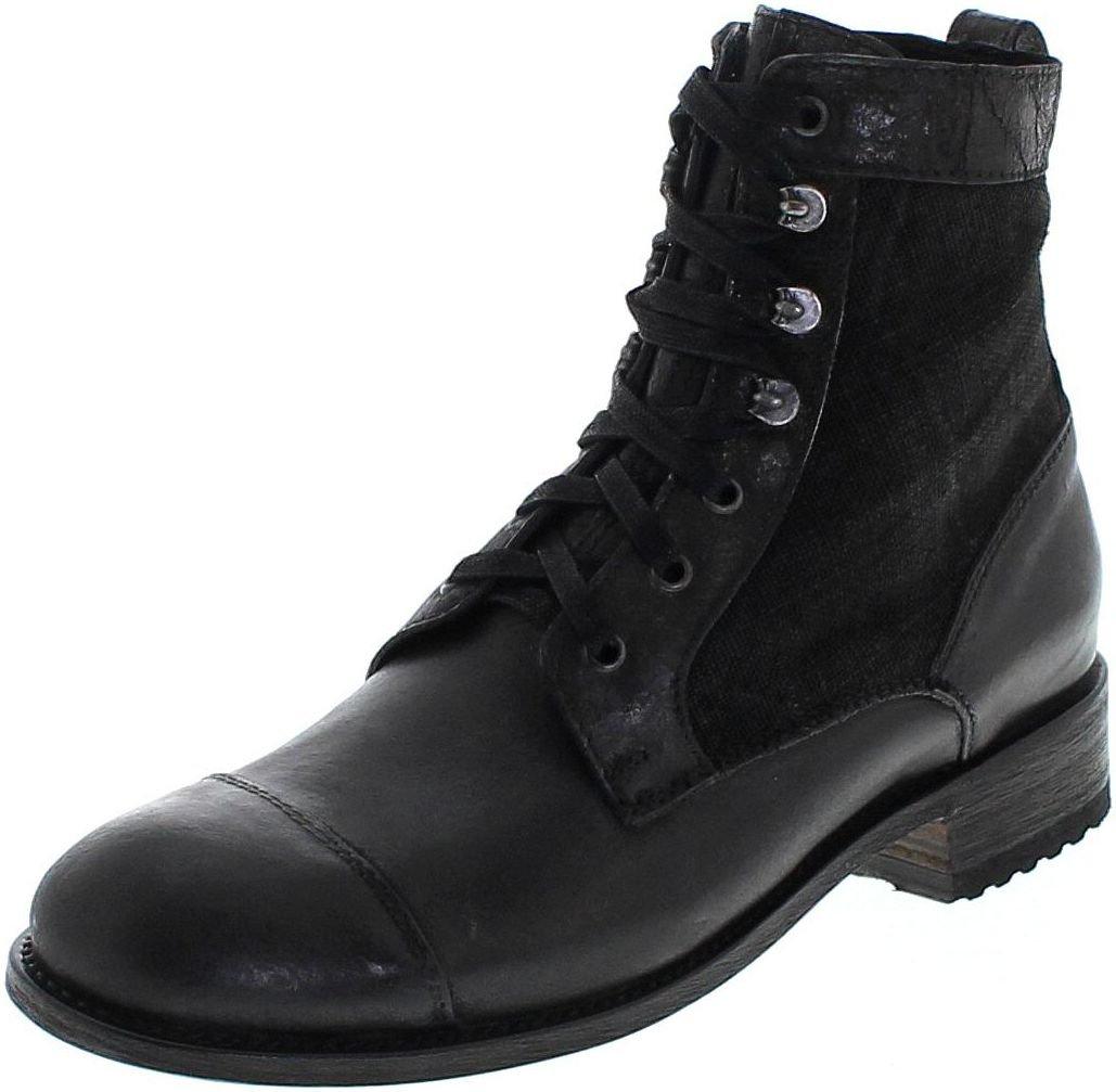 Sendra Boots 9791 Negro/Herren Schnürstiefel Schwarz/Herrenstiefelette Negro