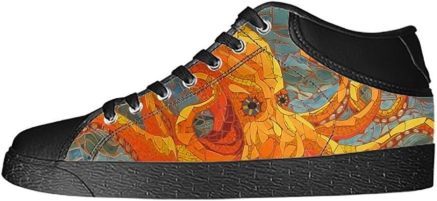 Daniel Turnai Fan Custom Eyes Pattern Mens Classic High Top Canvas Shoes Fashion Sneaker