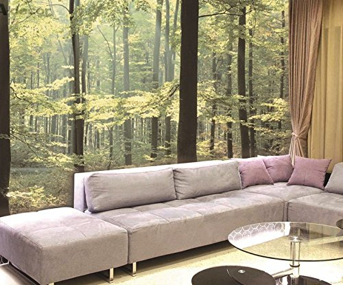 Enchanted Forest Huge Wall Mural 12 Feet 6 Inch Wide X 9