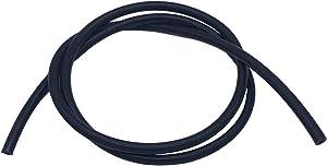 """Ucreative 5FT High Temperature Silicone Vacuum Tubing Hose Black (5/32"""" (4mm))"""