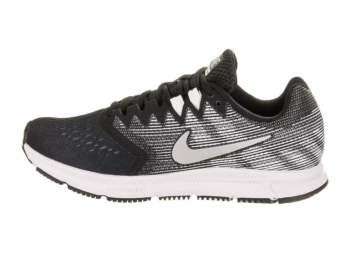 Amazon.com   Nike Womens Zoom Span 2 Black/Metallic/Silver Running Shoe 6.5 Women US   Running