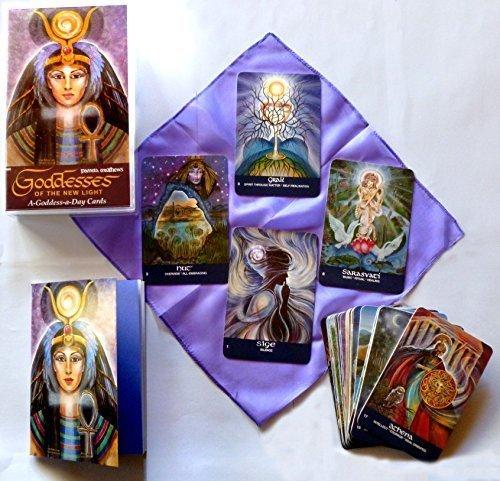 Goddesses-of-the-New-Light Divination Card Deck, Pamela Matthews
