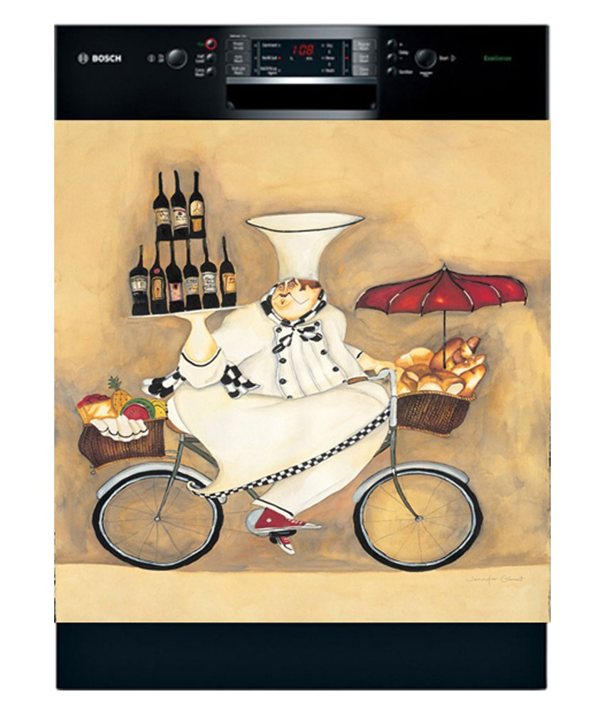 Appliance Art Wine Peddler Dishwasher Magnet Cover (Large)