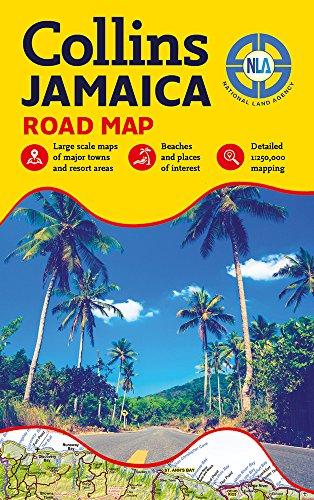 Jamaica Road Map (Jamaica Map)