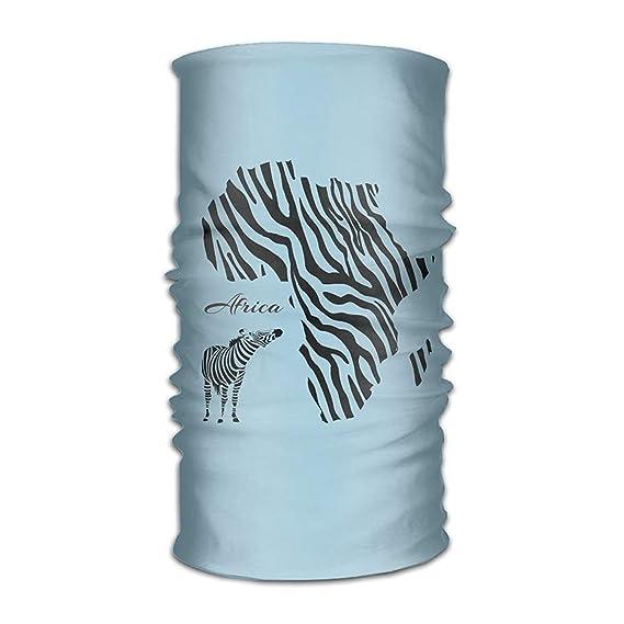 Magic Headwear Zebra African Zebra Outdoor Scarf Headbands Bandana Mask Neck Gaiter Head Wrap Mask Sweatband