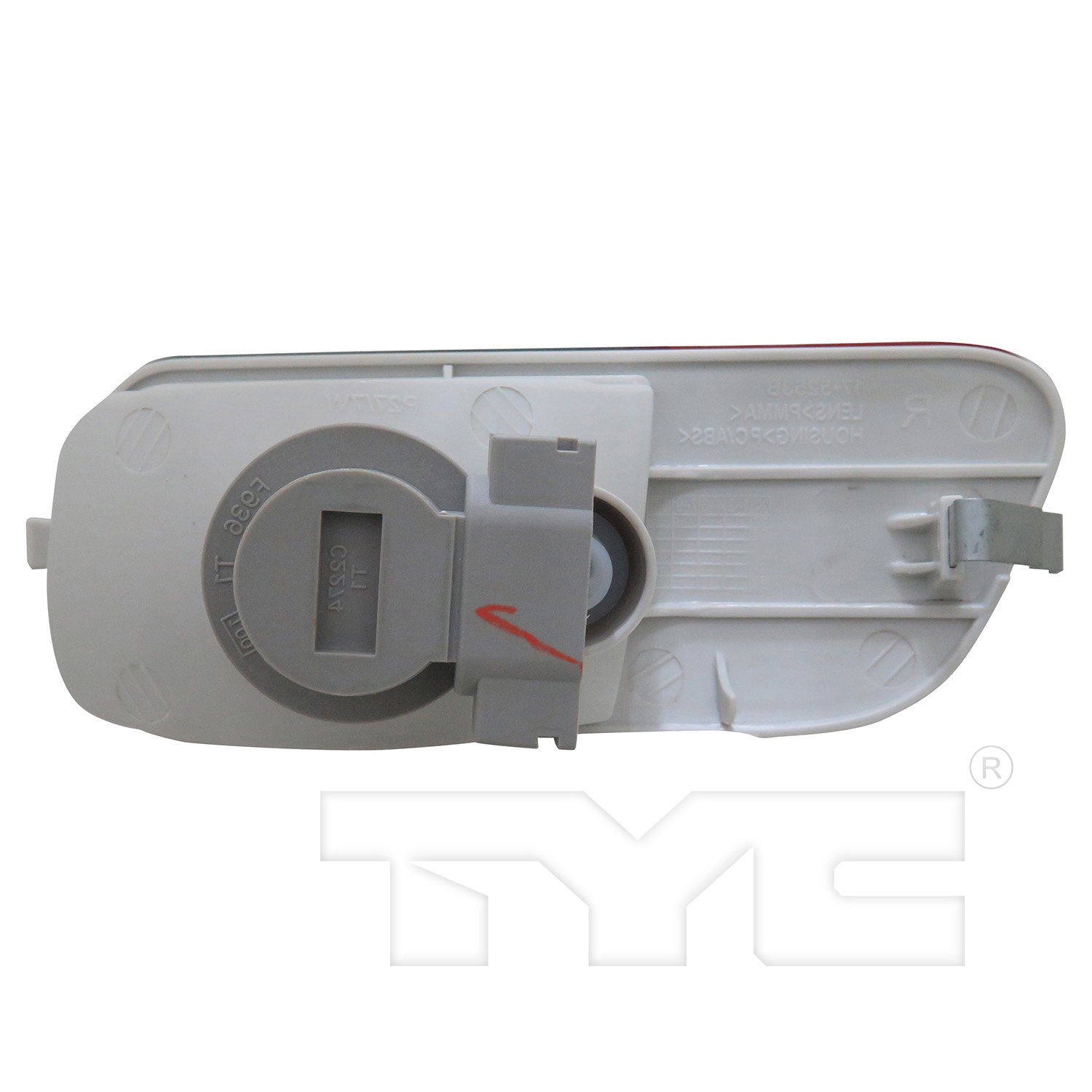 TYC 17-5254-00-9 Replacement left Reflex Reflector