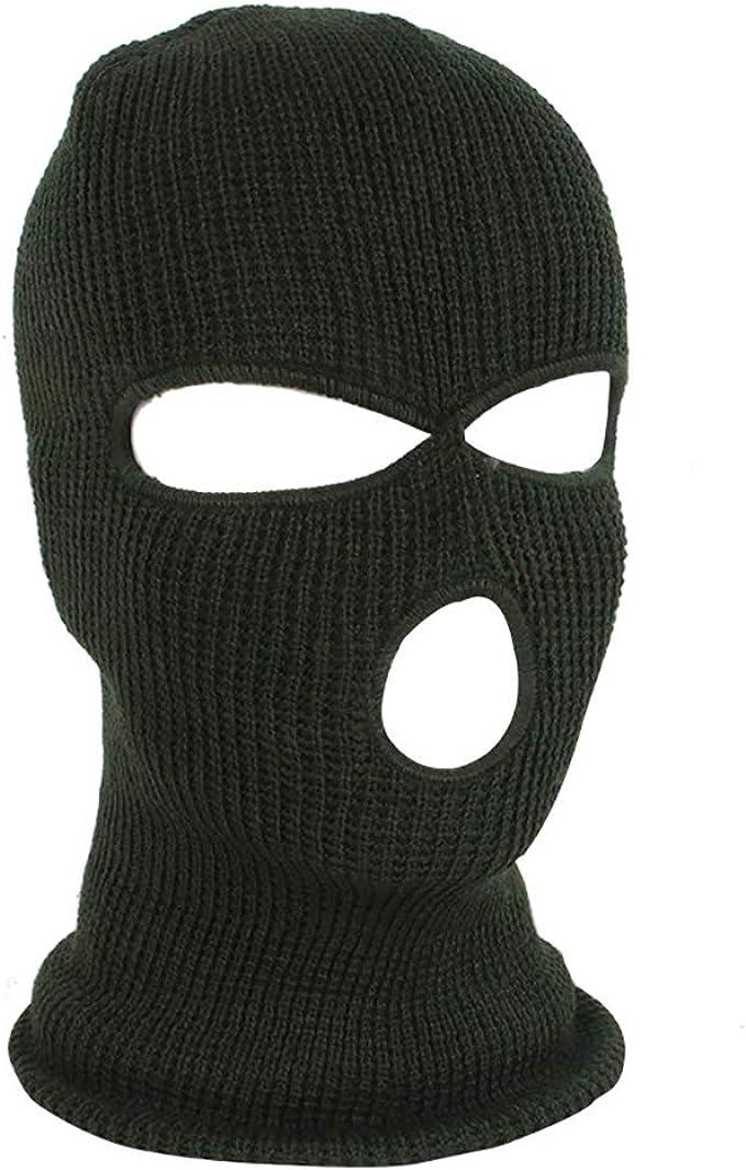 Winter Face Mask Hat 1 One Hole Balaclava Hood Tactical Camo Full Warm Cover Lot