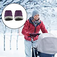 LeKing-Cochecito de bebé guantes cálidos, guantes impermeables, productos