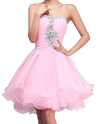 Fashion Plaza Princess Cocktail Party Dress Crystal Mini Short D0131