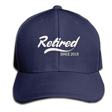 Magictop Retirado Desde 2018 Idea de Regalo de jubilación Hombres ...