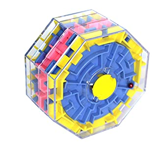 Toy*dfgh ☀ MG 3D Stereo Cambia Perline Labirinto Giocattoli educativi per Bambini Giochi di Svago Giocattoli di decompressione Labirinto 0422
