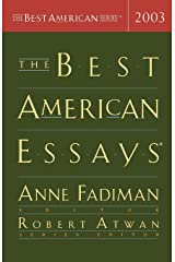 The Best American Essays 2003 (The Best American Series) Paperback