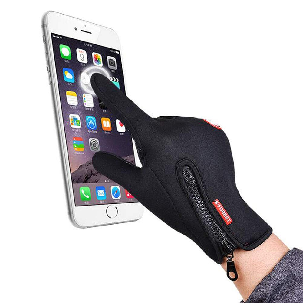ANLW Antivento Esterna Touchscreen Guanti Invernali Parapendio Guanto Impermeabile Termica Caldo Sci Donne Uomo