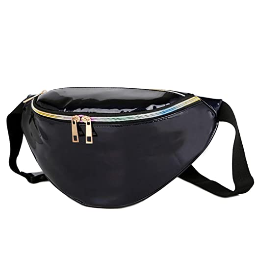 53596dc62c Amazon.com: Bum Bag - Running Belt - New Fanny Pack Laser Waist ...