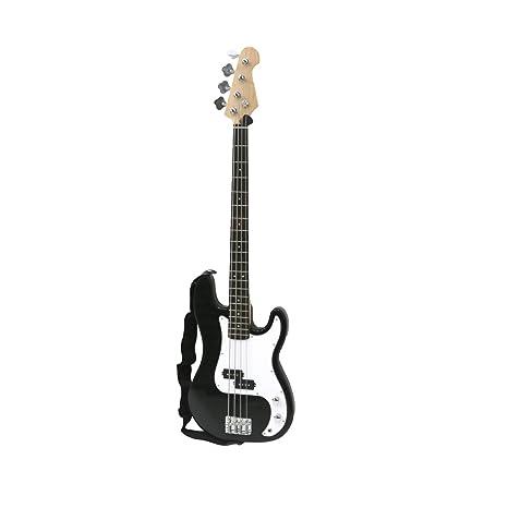 Oypla PB precisión Estilo Negro 4 Cuerdas de la Guitarra eléctrica ...