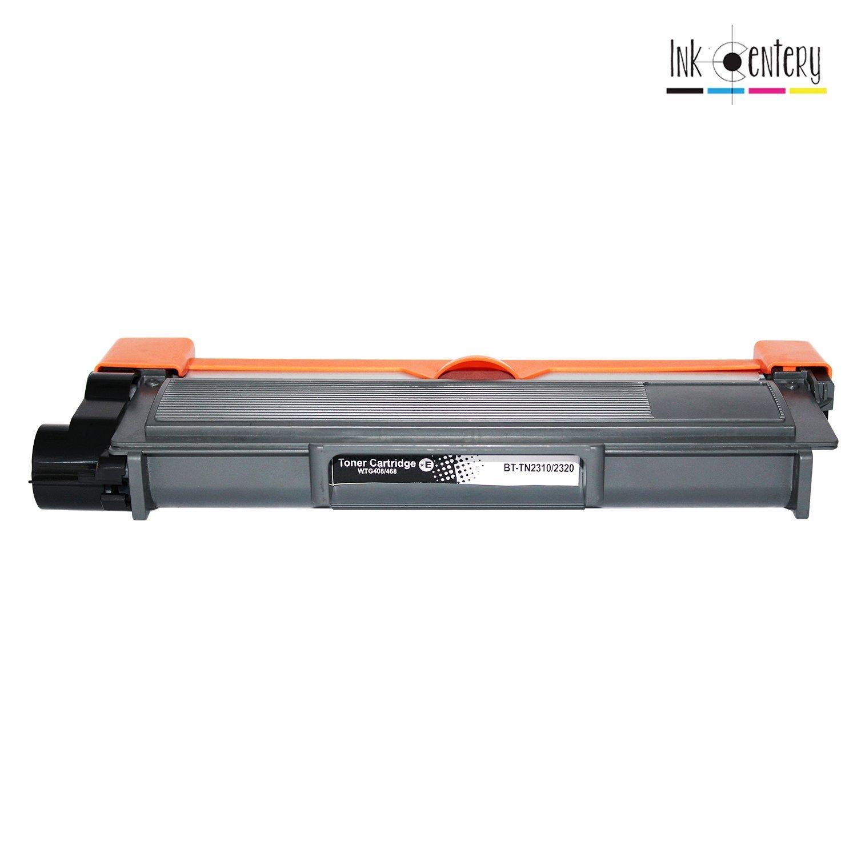 Ink Centery Color negro TN2320 Pack de 4 t/óners compatibles con Brother TN2310 capacidad de impresi/ón 2.600 p/áginas