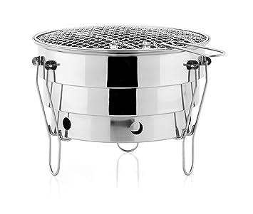 Yeying123 Estufa Perfect Flow Grill, Estufas Portátiles para Picnic, Barbacoa, Campamento, Senderismo