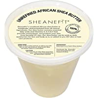 Raw Unrefined African Shea Butter - 8oz, 16oz, 32oz Containers by Sheanefit (Ivory, 30oz)