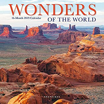 Amazon Com Graphique Wonders Of The World Mini Wall