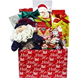 Art of Appreciation Gift Baskets Santa's Sweets Cookie and Candy Christmas Holiday Care Package Gift Box