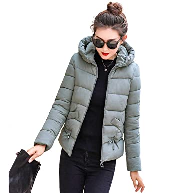 Amazon.com: Chaquetas de invierno de algodón abrigos ...
