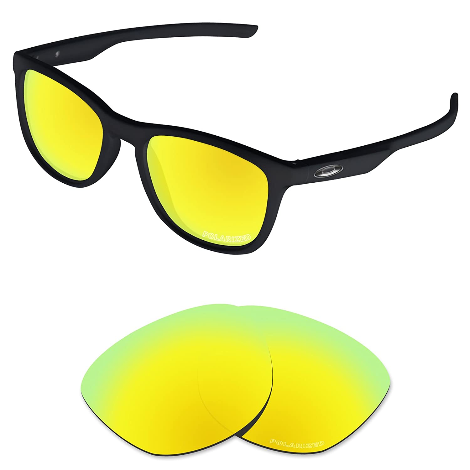 5c25478689 Amazon.com  Tintart Performance Lenses Compatible with Oakley Trillbe X Polarized  Etched-Carbon Black  Clothing