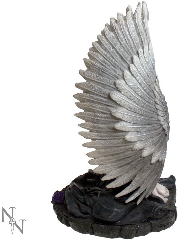 Color Negro 23 cm Figura Decorativa Nemesis Now dise/ño de oraci/ón