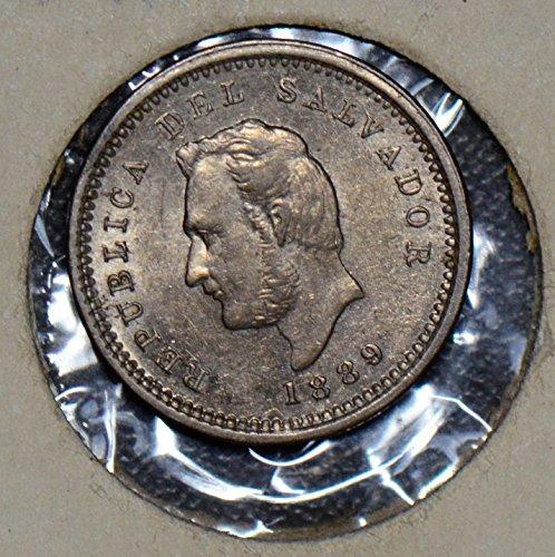 1889 SV 190100 El Salvador Centavo H UNC DE PO-01